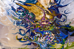 liquid ojects abstraction (photographybasedigitalart) Tags: purpletones nuances brightcolors abstractimage abstract brown darkblue fluidimage darkgreen art blue green abstractshapes grey lightbrown shades abstractions violet movement modernart abstractart dissolvingshapes contrasts white