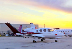 Chicago Midway Airport - Cirrus Vision SF-50 (twa1049g) Tags: chicago midway airport cirrus sf50 2019 n945aa vision