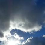 P2260156 vue du ciel 02 (nuage soleil bleu film accélélré durée réelle 43') Cergy thumbnail