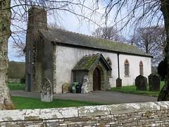 St. Cuthbert's Church, Embleton, Cumbria (tosh123) Tags: church building architecture arch cumbria graves gravestones wall england uk graveyard white