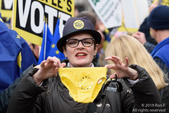Put It To The People March - London, 23 March 2019 (The Weekly Bull) Tags: brexit britain conservative eu europeanunion london peoplesvote tory uk democracy demonstration pants protest rally rerun referendum remainers