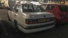 Vento CL TDI (Sam Tait) Tags: 1997 saloon car rare retro white diesel turbo tdi cl mk3 golf vento vw volkswagen