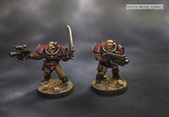 Blood Angels Scouts (whitemetalgames.com) Tags: warhammer40k warhammer 40k warhammer40000 wh40k paintingwarhammer gamesworkshop games workshop citadel whitemetalgames wmg white metal painting painted paint commission commissions service services svc raleigh knightdale northcarolina north carolina nc hobby hobbyist hobbies mini miniature minis miniatures tabletop rpg roleplayinggame rng warmongers wargamer warmonger wargamers tabletopwargaming tabletoprpg blood angels death company captain smash librarian scouts