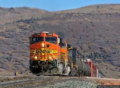 The Top (jamesbelmont) Tags: bnsf bnsfrailway soldiersummit utah ge es44dc mdvstj railroad railway train locomtive drgw riogrande apex