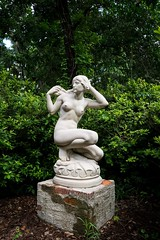 Spotted (dayman1776) Tags: sony a6000 brookgreen gardens south carolina myrtle beach garden marble sculpture sensual secret nude female statue skulptur escultura beautiful nature figurative art museum young girl woman