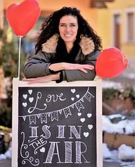 Waiting for Valentine's Day (maurizio.pretto) Tags: girl portrait face valentinesday bellezza ragazza viso winter inverno sorriso smile love amore montagna mountain neve snow
