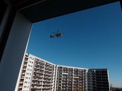 DSCF2455 (hans03) Tags: flugzeug hubschrauber berlin berlinmarzahn rettungshubschrauber eurocopter ec 135 christoph 31