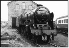 Royal Scot at Haworth (john48677) Tags: royal scot scots guardesman haworth kwvr sixties steam