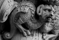 St Mary's Cathedral (richardr) Tags: stmaryscathedral stmary saintmary church westend gargoyle gilbertscott georgegilbertscott sirgeorgegilbertscott edinburgh midlothian cathedral blackandwhite blackwhite victorianarchitecture victorian victoriana 19thcentury nineteenthcentury gothic gothicarchitecture gothicrevival building architecture scotland scottish britain british greatbritain uk unitedkingdom europe european history heritage historic old