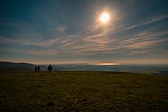 Big space walking..... (Dafydd Penguin) Tags: big space landscape walking rambling hiking moorland sun sky sea mountains llyn llyen peninsula north wales uk england leica m10 21mm super elmar f34