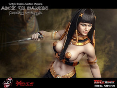 PHICEN PL2018-129 Anck Su Namun Princess of Egypt - 02 (Lord Dragon 龍王爺) Tags: 16scale 12inscale onesixthscale actionfigure doll hot toys phicen tbleague seamless
