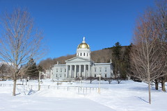 Vermont State House in Montpelier (pegase1972) Tags: us usa unitedstates vermont vt capitol statehouse winter snow licensed exclusive getty