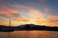 20190304-16-Sunset over Hobart (Roger T Wong) Tags: 2019 australia hobart mtwellington rogertwong sel24105g sony24105 sonya7iii sonyalpha7iii sonyfe24105mmf4goss sonyilce7m3 tasmania orange sunset waterfront