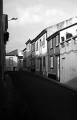 Rabo de Peixe (salparadise666) Tags: zorki 3m industar 22 rollei retro 80s caffenol cl 45min nils volkmer kb vertical rangefinder russian azores portugal bw black white monochrome street architecture