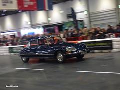 DS23 Pallas (BenGPhotos) Tags: 2019 london classic car show grand avenue blue 1975 citroen ds 23 ds23 pallas french luxury luc764p
