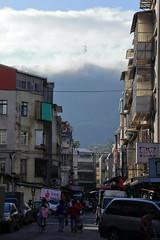 台北市 後山埤 (沐均青) Tags: taiwan taipei 台北市 風景 scenery landscape clouds sky buildings city colorful blue orange black outside tamron sunrise light fall autumn morning