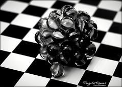 Crazy Tuesday - Black&White (angelakanner) Tags: canon70d helios442 crazytuesday blackwhite marbles closeup