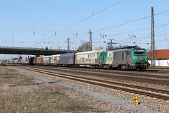 SNCF 37023-5 Güterzug, Graben-Neudorf (TaurusES64U4) Tags: sncf fret akiem bb37000