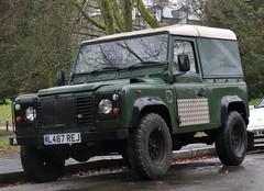 L487 REJ (Nivek.Old.Gold) Tags: 1994 land rover defender 90 tdi hardtop 2495cc