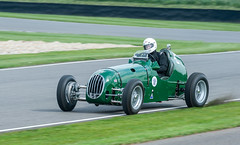 Alta 61 IS Running Out of Road Slightly (Jez B) Tags: goodwood members meeting 2019 grrc road racing club circuit track course competition sport motor car auto motorsport historic classic alta 61 is 1937 ian baxter madgwick grass