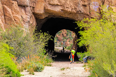 Claypool Tunnel on OLD US 60 (Buck--Fever) Tags: arizona superiorarizona queencreekcanyon tunnel oldus60 us60 canon60d tamron18400lens claypooltunnel