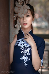Kippy (Francis.Ho) Tags: kippy áodài asian xt2 fujifilm girl woman female femme lady portrait people beauty pretty lips eyes hair face elegant glamour young sensuality fashion naturallight chinese daylight sunlight outdoor