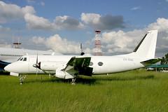 ZS-OOE Grumman G.159 Gulfstream I (pslg05896) Tags: zsooe grumman g159 gulfstream jnb faor johannesburg ortambo
