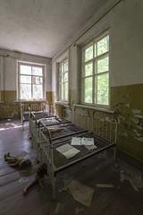 Kindergarten Beds (www.vanishingnewengland.com) Tags: chernobyl pripyat ukraine cccp soviet union urbex abandoned explore adventure travel decay history nuclear