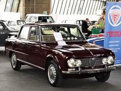 1967 Alfa Romeo Giulia Super 1600 (Alessio3373) Tags: auto cars oldcars classiccars youngtimers alfaromeo alfaromeogiulia alfaromeogiuliasuper alfaromeogiuliasuper1600 targhenere blackplates worldcars