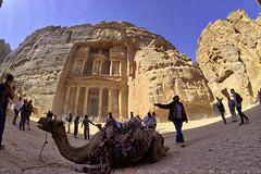 A graveyard beneath the Treasury (T Ξ Ξ J Ξ) Tags: jordan petra fujifilm xt20 teeje samyang8mmf28 siq canyon unique sandstone tsamud