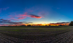 Sunset in Hedmard (Einar Schioth) Tags: sunshine sun sunset autumn autumncolors hedmark grass grassland evening sky canon clouds cloud blusky nationalgeographic ngc nature vividstriking landscape photo picture outdoor einarschioth norway norge