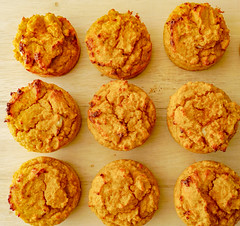 2019.02.08 Low Carbohydrate, Healthy Fat Pumpkin Muffins with Cream Cheese Filling, Washington, DC USA 09744