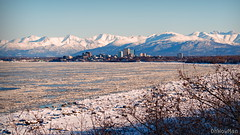 Winter View (OhWowMan) Tags: anchorage alaska winter view city mountains inlet ocean ice snow trees ohwowman nikon d3300 acdseepro9
