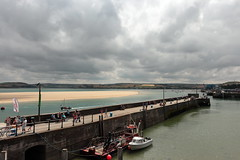 Padstow Harbour (Mike.Dales) Tags: padstow harbour boats rivercamel estuary sky sandbar cornwall england