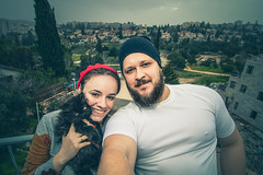 Jewish family (MeirArt) Tags: israel jew jewish judaism shabbat cat cats love family beard bearded wife jerusalem boy girl