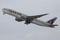 Qatar Airways (So Cal Metro) Tags: airline airliner airplane aircraft plane jet aviation airport hongkong hkg