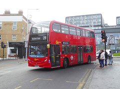 GAL E265 - SN62DFX - WOOLWICH TOWN CENTRE - FRI 11TH JAN 2019 (Bexleybus) Tags: goahead go ahead london woolwich arsenal town shopping centre station dlr new road greens end adl dennis enviro 400 tfl route 291 e265 sn62dfx