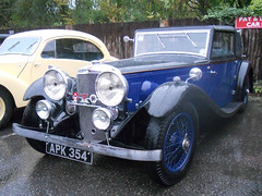 Alvis Speed 20 SB VanDenPlas 1933 DSCN1554mods (Andrew Wright2009) Tags: north yorkshire moors railway 1940s weekend england uk heritage history cars automobiles classic vehicle alvis speed 20 sb vandenplas 1933