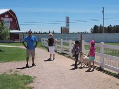 P7021850 (photos-by-sherm) Tags: old macdonalds farm rapid city south dakota sd animals machinery museum petting zoo goats horses turkeys chickens summer