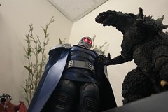 Titans (misterperturbed) Tags: dccomics darkseid godzilla jackkirby justiceleague mezco mezcoone12collective one12collective shmonsterarts
