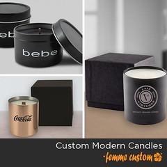 Promotional Custom Made Candles - FemmePromo! (femme7) Tags: custommadecandles custom branded candles