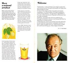 Heineken Brochure 2_P (foliopix) Tags: amsterdam heineken beer copper vats brewing brewery lager drink