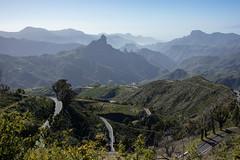 Panorama view (s_andreja) Tags: spain tejeda cruzdetejeda miradordetejeda panorama view layer mountains viewpoint mirador grancanaria