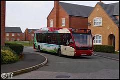 Warrington's Own Buses - YJ62 FKL (2) (Tf91) Tags: warrington warringtonbus yj62fkl optare versa 10 hybrid latchford 102 warringtonsownbuses