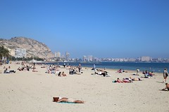 Alicante - Spain  20/03/2017 (Kristel Van Loock) Tags: 20032017 alicante alacant visitalicante spain spanje spagna spanien spagne spainlovers espana espagne espanha espagna visitespana visitspain travel travelinspain travelphotography viaggio voyage viagem europe europa vacanza holiday 20march2017 beach playa praia spiaggia plage strand sand zee mar mare sea