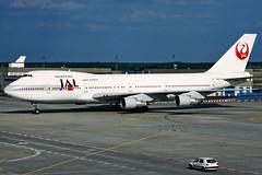 Japan Airlines (JAL)  Boeing 747-246B JA8154 (widebodies) Tags: frankfurt main fra eddf widebody widebodies plane aircraft flughafen airport flugzeug flugzeugbilder japan airlines jal boeing 747246b ja8154