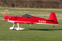 G-CPII - 1988 build Avions Mudry CAP-231, rolling for departure on Runway 26R at Barton (egcc) Tags: 07 aerobatic bakhtiari barton capaviation cap231 cnabj cityairport deihh egcb fgshh fwqol gcpii lightroom manchester avionsmudry