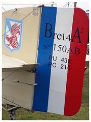 Breguet XIV (14) F-POST (Aerofossile2012) Tags: breguetxiv fpost avion aircraft aviation laferté meeting airshow 2017 tail dérive