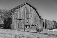 The Old Barn (Kool Cats Photography over 11 Million Views) Tags: blackandwhite bw barn oklahoma usa america farm wooden building architecture artistic abandoned symbol historical historic buildings oktraveltakeover