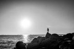 Roscoff (PaxaMik) Tags: roscoff plagedesamiets ocean atlantique atlanticocean bretagne brittany soleil soleilcouchant coucherdesoleil silhouette plage rocks
